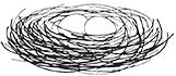 Nestschaukel Logo